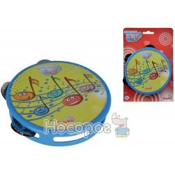 """Музичний інструмент Simba """"Бубен. Веселі ноти"""", 15 см, 3+"""