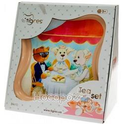 """Набор посуды Tigres """"Модное чаепитие"""" в коробке 39410"""