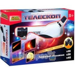 Дитячий іграшковий набір BeBeLino EasyScience Портативний телескоп 44008