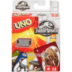Карточная игра Mattel UNO Парк Юрского периода FLK66