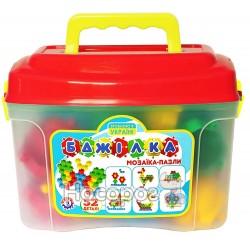 Іграшка мозаїка-пазли ТехноК Бджілка 3619