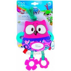 """Іграшка плюшева розвиваюча CANPOL """"Forest Friends"""" рожева сова"""