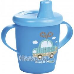 Кружка непроливайка Canpol Babies Toys 250мл синяя 31/200
