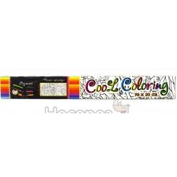 Раскраска для детей STRATEG Cool coloring MAXI 1109