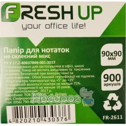 Блок паперу для нотаток не клеєний Fresh Up FR-2611 100419