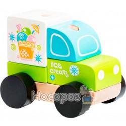 Машинка Левеня Cubika Экспресс-мороженое LM-8