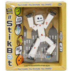Фигурка для анимационного творчества STIKBOT S2 (белый)