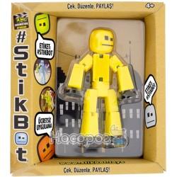 Фигурка для анимационного творчества STIKBOT S2 (желтый)