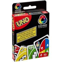 """Карткова гра Mattel UNO """"Додай кольорів"""""""