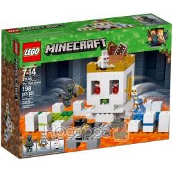 Конструктор детский LEGO Minecraft Арена-череп 21145