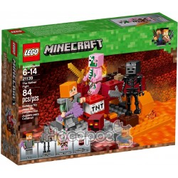 Конструктор LEGO Minecraft Битва в Нижнем мире 21139