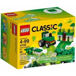 Конструктор LEGO Classic Зелена коробка для творчого конструювання 10708