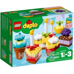 Конструктор LEGO Duplo Мой первый праздник 10862