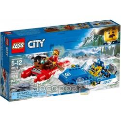 Конструктор LEGO City Погоня по горной реке 60176
