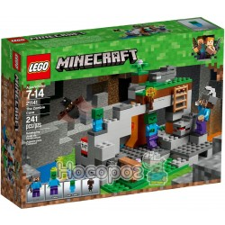 Конструктор LEGO Minecraft Печера зомбі 21141