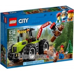 Конструктор LEGO City Лесоповальный трактор 60181