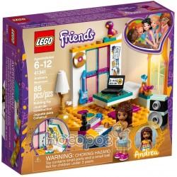 Конструктор детский LEGO Friends Спальня Андреа 41341