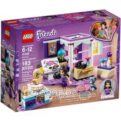 Конструктор LEGO Friends Роскошная спальня Эммы 41342