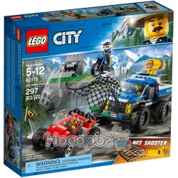 Конструктор LEGO City Погоня на грунтовій дорозі 60172
