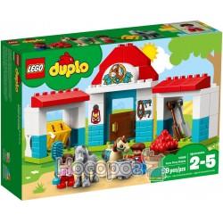 Конструктор LEGO Duplo Конюшня пони на ферме 10868