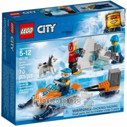 Конструктор LEGO City Arctic Полярные исследователи 60191