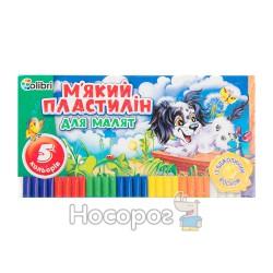 """Пластилин Мицар """"Для малышей"""" 5 цв."""