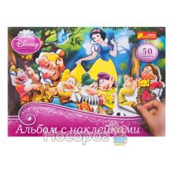 """Альбом с наклейками Дисней """"Принцессы №2"""""""
