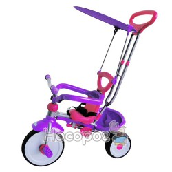 Велосипед трьохколісний TT-2012 PINK+VIOLET