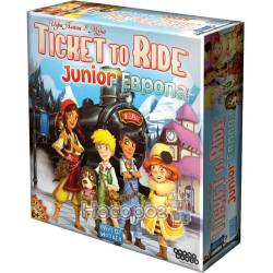 Настільна гра Hobby World Ticket to Ride Junior: Європа 1867