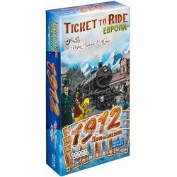 Настольная игра Hobby World Ticket to Ride: Европа 1912 (дополнение) 1626