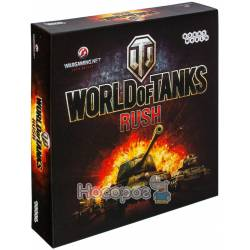 Настольная игра Hobby World World of Tanks Rush (2-е рус. изд.) 1341