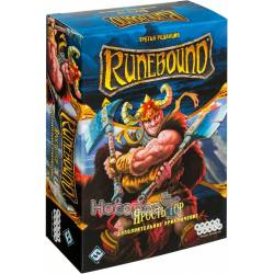 """Настольная игра Hobby World Runebound: Дополнительное приключение """"Ярость гор"""" 1755 (третья редакция)"""
