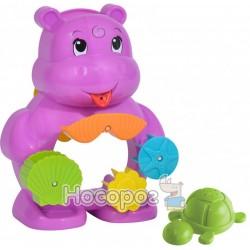 """Ігровий набір для ванни Simba """"Бегемотик з черепашкою"""" 4010111"""