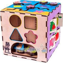Розвиваючий інтерактивний куб QUOKA 002A