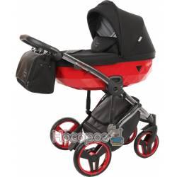Коляска детская 2 в 1 Junama Diamоnd S-line Red