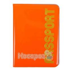 Обложка на паспорт L6127 оранжевая