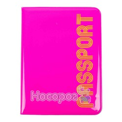 Обложка на паспорт L6127 розовая