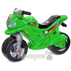 Мотоцикл двоколісний зелений (501)