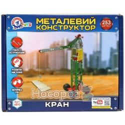 "Конструктор металлический ТехноК ""Кран"" 4890"