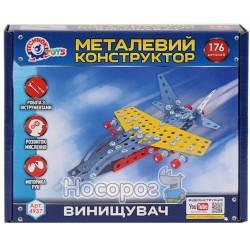 """Конструктор металлический ТехноК """"Истребитель"""" 4937"""
