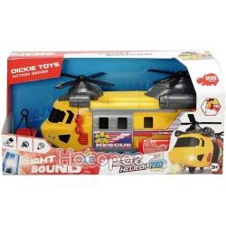 """Функціональний гелікоптер """"Служба порятунку"""" з лебідкою Dickie Toys 3306004"""