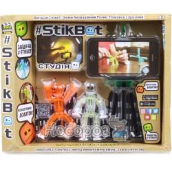 Игровой набор для анимационного творчества Stikbot S1 Студия 2 стикбота + штатив TST615
