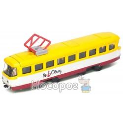 Модель трамвай Одесса Технопарк SB-17-16WB-O