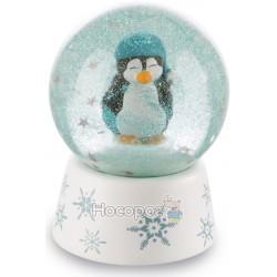 Стеклянные шары NICI полярный мишка, пингвин, тюлень, снеговик 42056