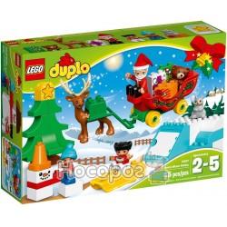 """Конструктор LEGO Duplo """"Зимние каникулы Санты"""" 10837"""