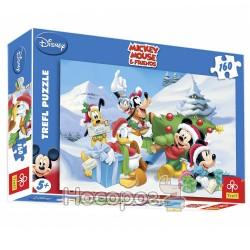 """Пазл """"Міккі Маус взимку"""" (Disney)"""