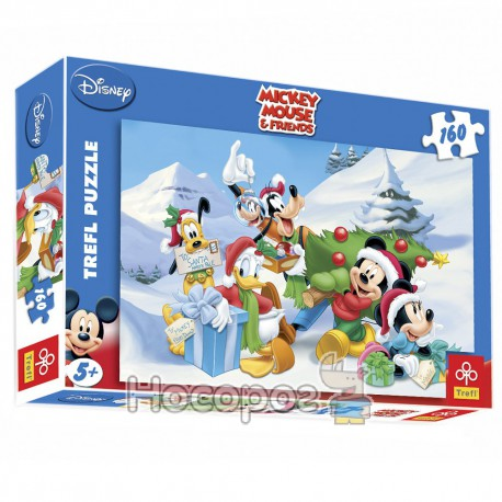 "Пазл ""Микки Маус зимой"" (Disney)"