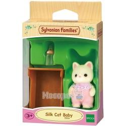 """Игровой набор Sylvanian Families """"Шелковый котенок"""" 5066"""