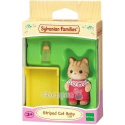 """Игровой набор Sylvanian Families """"Полосатый котенок"""" 5186"""