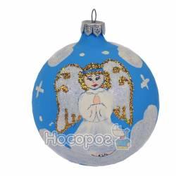 Іграшка новорічна КУЛЯ ФОНОВА Ф-Я1